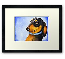 Is this my best side? 717 views Framed Print