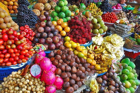 Exotic fruit by Adri  Padmos