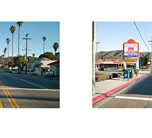 Eagle Rock Boulevard + Yosemite Drive, Eagle Rock, Los Angeles, California, USA...narrowed. by David Yoon