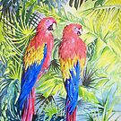 Two Parrots by FranEvans