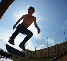 Me(Tom gabriel) back side kickflip by 05thomasg