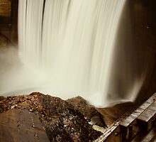 Lake Clementine Waterfall by Andy Brooks