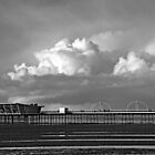 Pier and Clouds by stebird