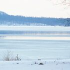 Lake Monroe Winter by ckroeger