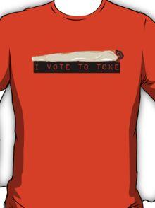 I vote to toke (classic) T-Shirt