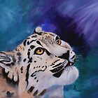 Baby Snow Leopard by Brenda Thour