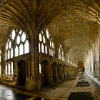 Gloucester Cathedral Panorama by ASBO-Allstar