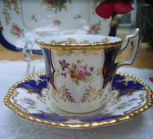 My Favorite Cup and Saucer by Pat Yager