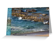 Burwood Beach - Newcastle Greeting Card