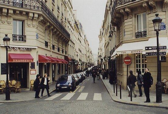 French Crosswalk by Steve Mezardjian