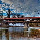 Conway Covered Bridge by lloydsjourney