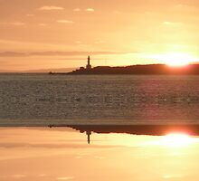 Mirrored Sunset by judygal