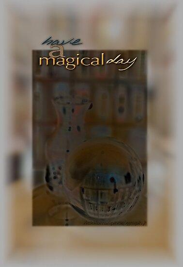 Magical Day Card 03 © VFPCards by Vicki Ferrari