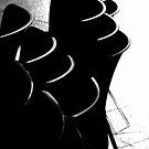 Stacked black by Elizabeth McPhee