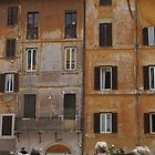 Roman life - Piazza della Rotonda by BronReid