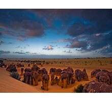 Valley of the Pinnacles - Western Australia Photographic Print