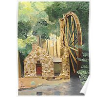 Old Mill at Berry College Poster