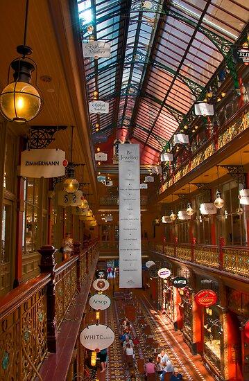 Strand Arcade, Sydney by Erik Schlogl