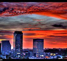 Naik Michel Photography - Sunset over Santa Monica, Los Angeles, California 005 by Naik Michel