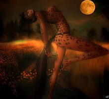 Red Moon by Lillou-Merlin
