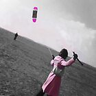 Pink Kiting by Gillian  Ford