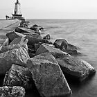 Ludington Lighthouse by Joe Thill