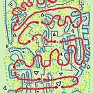 Homeward Bound - original drawing by James Lewis Hamilton