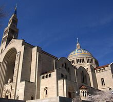 """Basilica of the National Shrine of the Immaculate Conception"" Washington DC by jwhimages"
