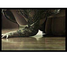 The floors hold my secrets Photographic Print