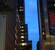 Street Level, New York City at 5:01 am by Michele Ford