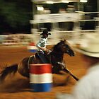 Barrel Racing by DrCharlie