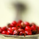 Red Peppercorns by Anita Waters