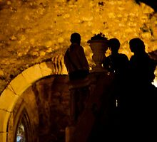 Silhouettes In Taormina by phil decocco