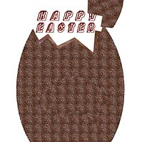 Chocolate Easter Egg-Happy Easter by mandyemblow