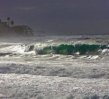 Laguna Beach Winter Ocean by John Glass