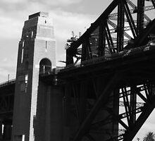Sydney Harbour Bridge - B&W by lu138
