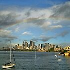 Rainbow over Sydney by Puppy2
