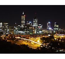 From Kings Park to Perth City Photographic Print