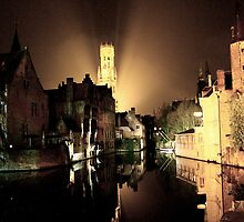 one night, in Bruges by rebeccaolsen
