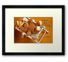 Come dream with me Framed Print