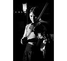 The Violinist II  Photographic Print