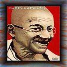 Mahatma Gandhi  by Jerry  Stith
