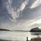 View from Trelissick Gardens by Simon Marsden