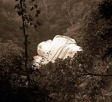 Lying Sakiyamuni Buddha, Ta Cu Mountain, Vietnam by Paul Holland