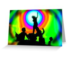 Dawning of the Age of Aquarius Greeting Card
