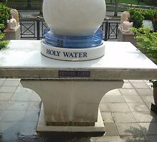 Holy Water Font by Sonya Byrne