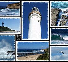 Norah Head Lighthouse NSW Australia by Donna Keevers Driver