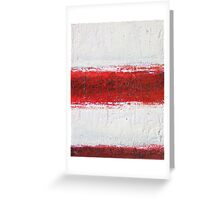 Simply Red 2 Greeting Card