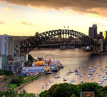Vista - Moods Of A City (Panoramic) - The HDR Experience by Philip Johnson