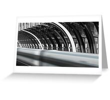 Utopia Station Greeting Card